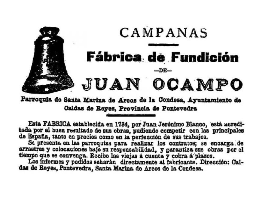 Publicidad de Juan Ocampo